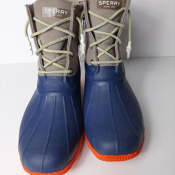 Sperry rain duck boots womens size 12